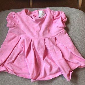 Ralph Lauren - 6 months Pink dress.
